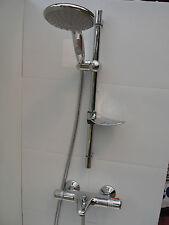 "Thermostatique mural robinets de baignoire, LGE 6 ""poche & rail de douche ensemble 331 / 352"