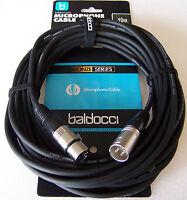 10 m Mikrofonkabel XLR-XLR 3-pol schwarz DMX-Kabel Mikrofon-Kabel Top Aktion