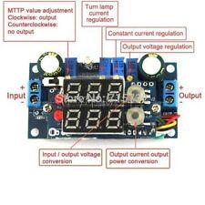 MPPT Solar Panel Controller 5A DC-DC Step-down CC/CV Charging Module LED Display