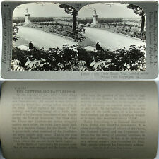 Keystone Stereoview Civil War Battle site GETTYSBURG, PA From 600/1200 Card Set