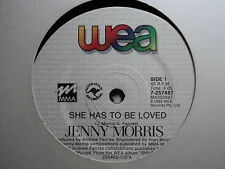 "Jenny Morris ""She Has To Be Loved"" Oz 7"""
