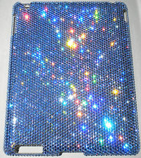 16ss LT BLUE CRYSTAL Diamond Bling Case for iPad Mini made w/ Swarovski Elements
