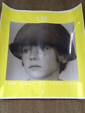 U2 Original Printers Plate The Best Of 1980-1990 Poster 1/1 Rare!!!