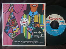 "LOS BEAT 4 dame un bananino EP CHILE GARAGE FREAKBEAT PSYCH MOD 7"" SINGLE 45"