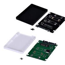Plastica Mini pcie mSATA da SSD a 6.3cm SATA3 Scheda Adattatore Con Custodia
