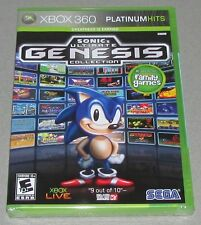 Sonic's Ultimate Genesis Collection for Xbox 360 Brand New! Factory Sealed!