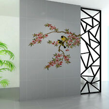 Wall Decal Blossom Tree Branches Love Birds Removable Sticker Bedroom Decor