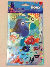 New Disney Pixar Finding DORY Stickers and Album Set Nemo