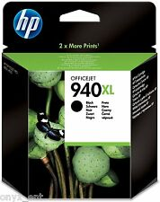 Genuine HP 940XL Black Ink Cartridge C4906AE for OfficeJet Pro 8500 8000