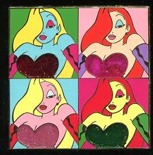 Auctions P.I.N.S. Jessica Rabbit a la Warhol Andy LE 500 Disney Pin 36450