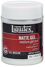 LIQUITEX artisti Acrilico MATT GEL MEDIUM 237ml. artisti pittura acrilica medium
