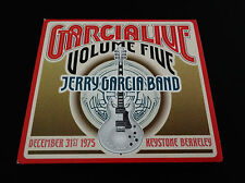 Jerry Garcia Band Garcia Live Volume 5 Five CD 12/31/1975 Keystone Grateful Dead