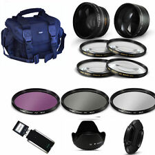 Lens & Filter Kit + GADGET BAG for SONY ALPHA A230 A330 A500 A550 A100 A200 A290