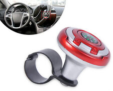 2in1 Vehicle Wheel Steering Spinner power handle ball Knob-Navigation Compass