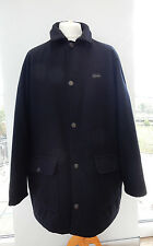 Paul & Shark Pure Wool Car Coat Navy Size XXL