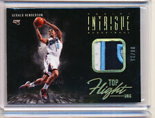 2013-14 PANINI INTRIGUE GERALD HENDERSON TOP FLIGHT UNIS 08/25