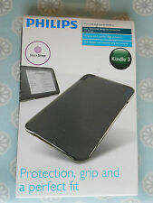 PHILIPS Soft Shell case for KINDLE 3 - Black