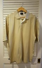 Maybach Polo Shirt Adult Size Large L Tan  Mercedes Benz Automobile German Golf
