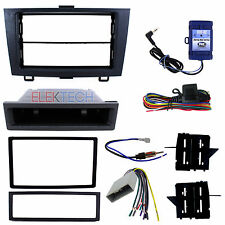 Radio Replacement Dash Kit 2-DIN w/Harness/Antenna & Steering Controls for Honda