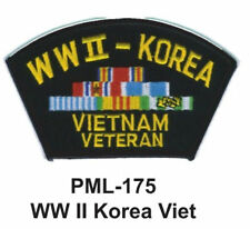 """4""""  NEW WW II KOREA VIET-Embroidered Military Large Patch"""