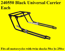 Universal Motorbike Motorcycle Carrier / Rack fits most also SUZUKI GZ125 GZ250