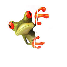 3D Peep Frog Funny Sticker Car SUV Window Decorative Decal Graphics Sticker yp