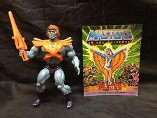Masters of the Universe Faker Complete MOTU He-Man Skeletor No Sticker Vintage