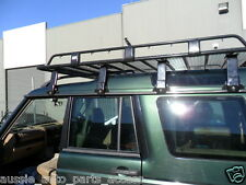 HD Tradesman Open Ends Steel Roof Rack 4 Landrover Discovery 1 long loads