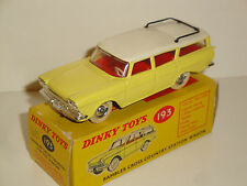 RAMBLER CROSS COUNTRY STATION WAGON  DINKY TOYS REF 193
