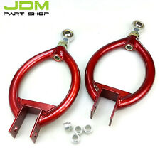 Rear Upper Adjustable Camber Control Arms RED for Skyline S13 R32 R33 RB25DET