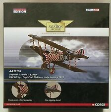 Corgi Aviation Archive AA38106 Camel F1 C M McEwen 1/48 Scale Diecast Model