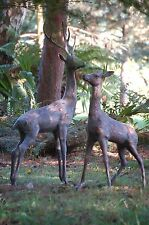 Deer Extra Large  Garden Ornament. Garden Sculptures, Aluminium Bronze Effect