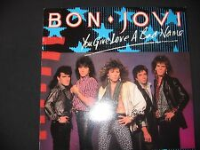 "Bon Jovi ""YOU GIVE LOVE A BAD NAME"" Vinyl Maxi Single von 1986"