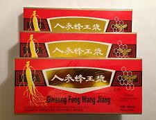 3 Packs Red Panax Ginseng Royal Jelly Extract Oral Liquid 30 Vials Totally