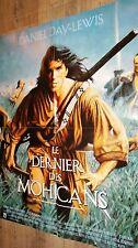 LE DERNIER DES MOHICANS !    affiche cinema western , indien