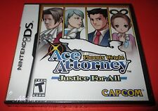 Phoenix Wright Ace Attorney Justice For All Nintendo DS  New!!  Free Shipping!!