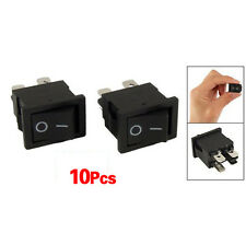 10x 4 Pin On-Off 2 Position DPST Boat Rocker Switches 10A/125V 6A/250V AC BTSZUK