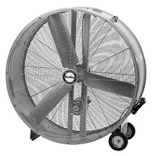 "Air King 9942D 42"" Belt Industrial Grade High Velocity Drive Drum Fan"