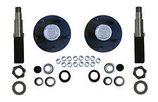 Build Your Trailer Axle Kit 3500# square spindle 5x4.75