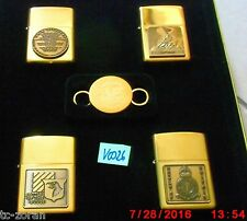 ZIPPO accendino World War II-a Remembrance/4 Zippos U. 1 rimorchio; RAR v0026