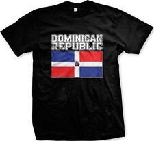 Dominican Republic Text Flag República Dominicana Pride Orgullo Mens T-shirt