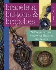 BK188f BRACELETS, BUTTONS & BROOCHES by Davis Soft Cover Book New in Shrink Wrap