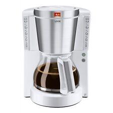 Melitta Look IV Deluxe 1011-05 Weiss Filter-Kaffeemaschine 1000 W Tropfstopp