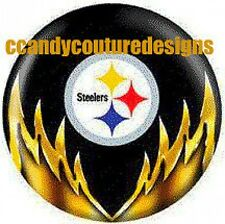 20 WATER SLIDE NAIL ART DECALS TRANSFERS  STEELERS 5/8 th inch