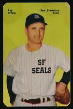 1952 Mother's Cookies (PCL) -#50 RAY ORTEIG (San Francisco Seals)