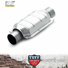 "Magnaflow 2.25"" 200 CPI Metal Core Stainless Steel Cat Catalytic Converter Oval"