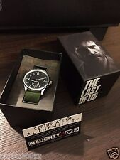 The Last of Us Joel's Wrist Watch - 41mm Silver Metal + Cert Authenticity MSTR