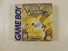 SEALED NINTENDO GAME BOY POKEMON SPECIAL PIKACHU EDITION YELLOW VERSION GB GBC