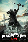 Dawn of the Planet of the Apes - A3 Film Poster - FREE UK P&P
