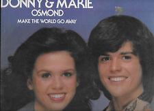 Donny & Marie Osmond - Make The World Go Away - 1975 LP